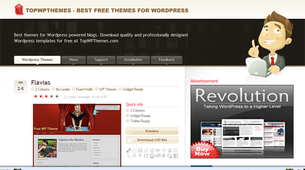 wp0004 Excellent Resources for Finding WordPress Themes