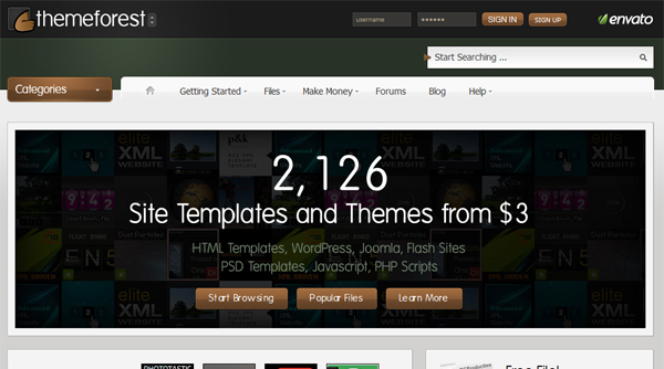 wp0006 Excellent Resources for Finding WordPress Themes