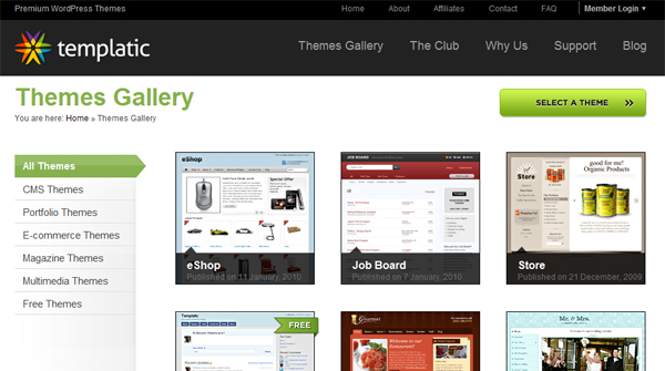 wp0013 Excellent Resources for Finding WordPress Themes
