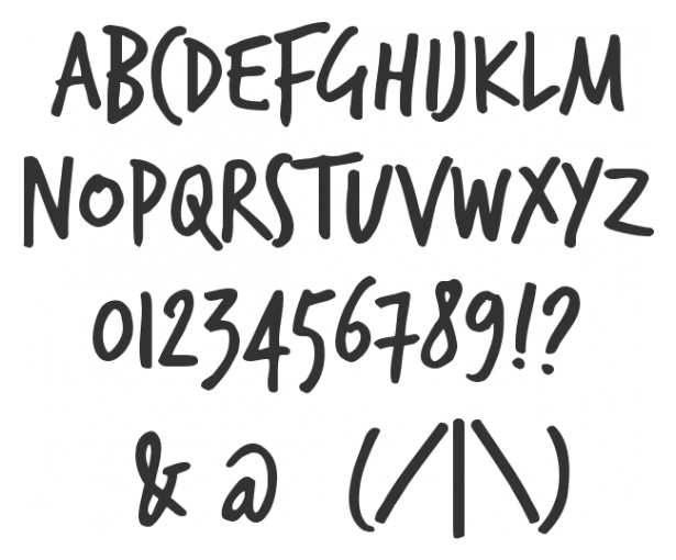 hand8 26 Hand written Fonts You Have to Download
