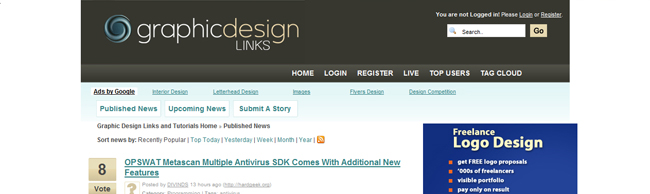 links8 Top 11 Sites to Submit Your Design Links