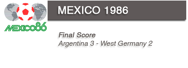 mexico 1986 Evolution of FIFA World Cup Logos – 1930 to 2010