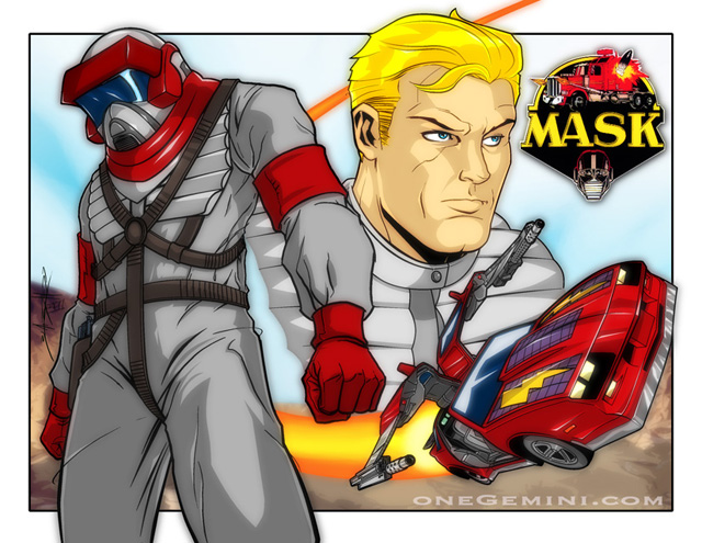 80s004 Awesome 80′s Cartoons Illustrations