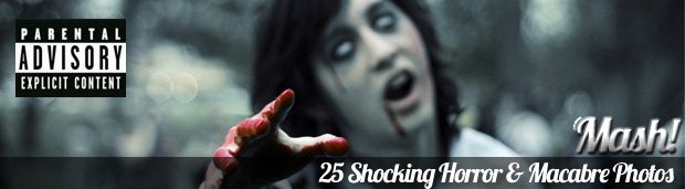 shocking horror macabre photos 25 Shocking Horror & Macabre Photos