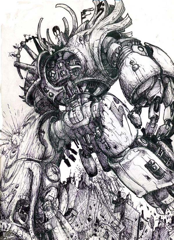 awesome robots 03 Rise of the Robots! – Awesome Robot Artworks