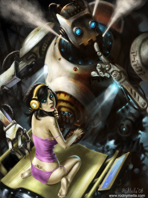 awesome robots 44 Rise of the Robots! – Awesome Robot Artworks