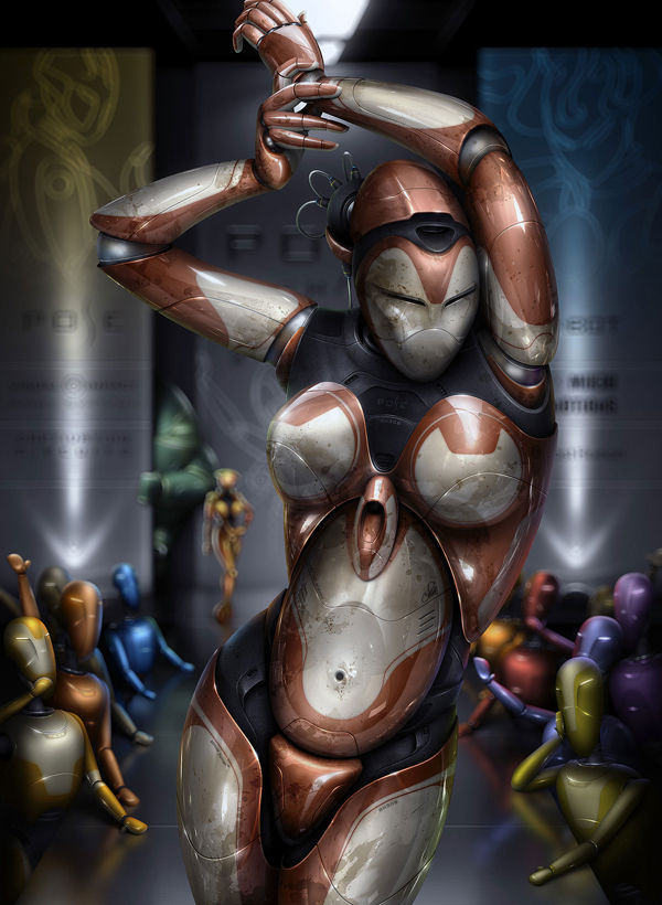 awesome robots 52 Rise of the Robots! – Awesome Robot Artworks