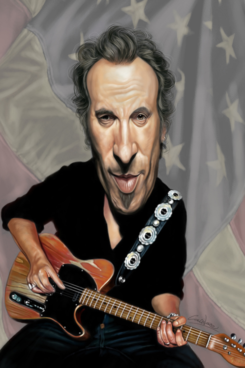 amazing caricatures 12 Amazing Celebrity Caricatures by Marco Calcinaro