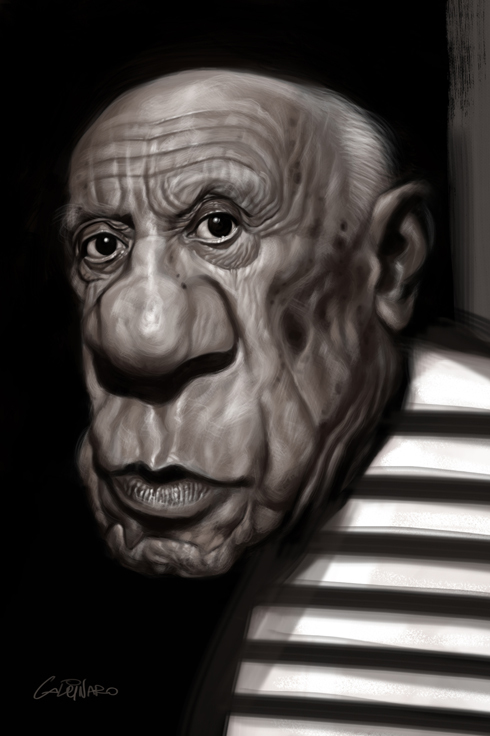 amazing caricatures 18 Amazing Celebrity Caricatures by Marco Calcinaro