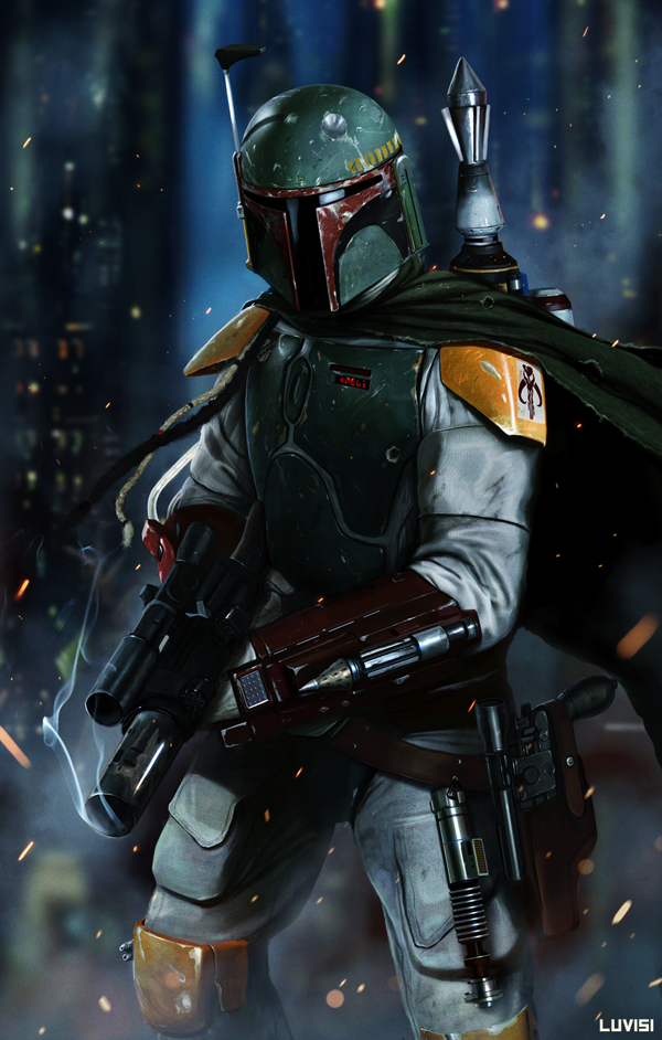 boba fett 007 Star Wars   Boba Fett in Artwork   The Ultimate Badass!