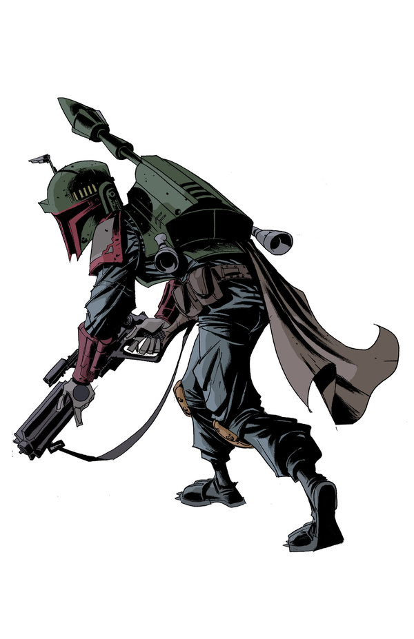 boba fett 009 Star Wars   Boba Fett in Artwork   The Ultimate Badass!