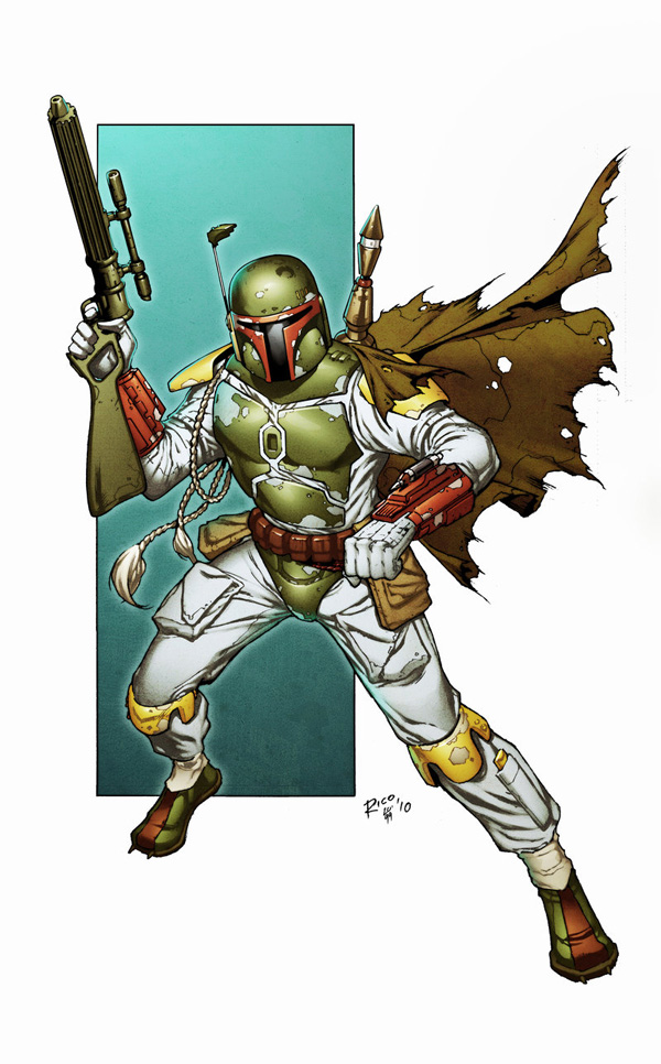 boba fett 019 Star Wars   Boba Fett in Artwork   The Ultimate Badass!