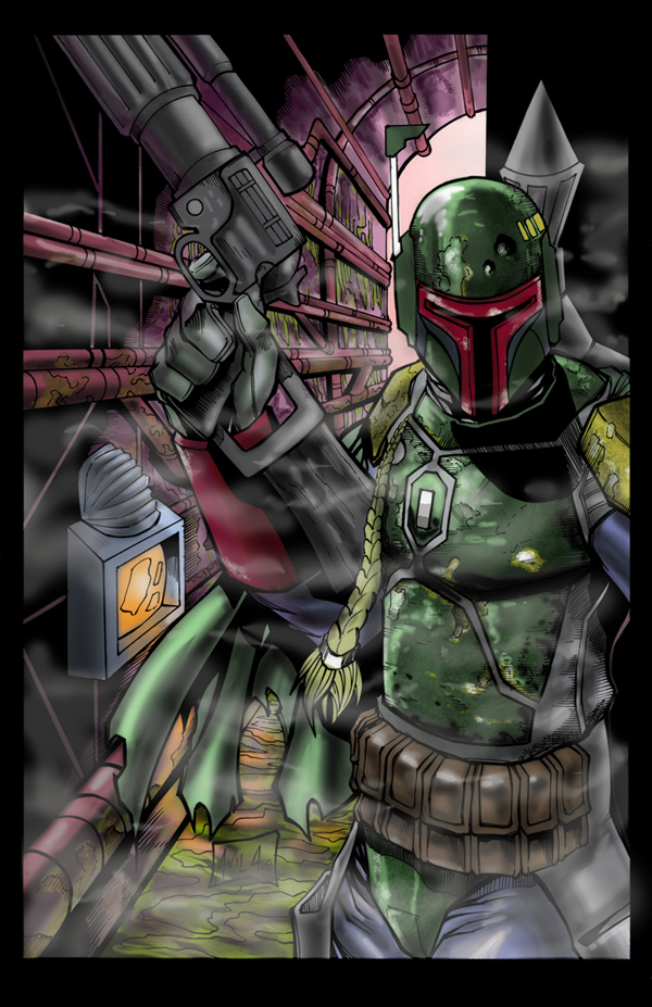 boba fett 022 Star Wars   Boba Fett in Artwork   The Ultimate Badass!