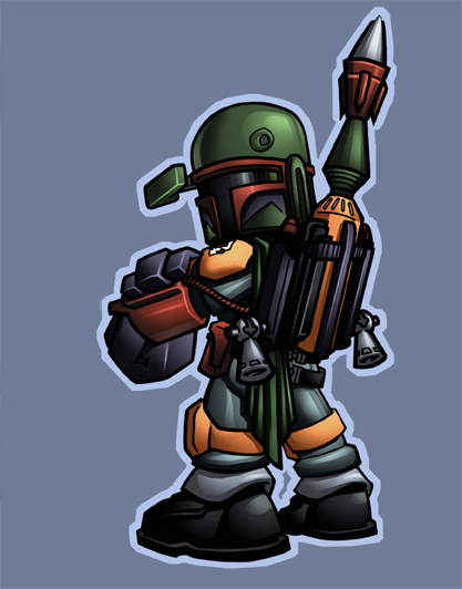 boba fett 024 Star Wars   Boba Fett in Artwork   The Ultimate Badass!