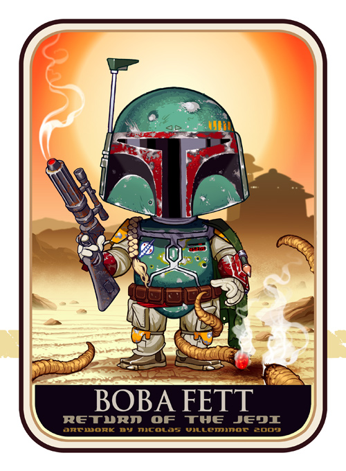 boba fett 025 Star Wars   Boba Fett in Artwork   The Ultimate Badass!