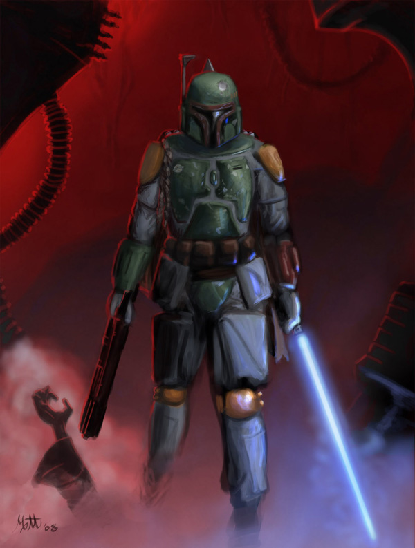 boba fett 026 Star Wars   Boba Fett in Artwork   The Ultimate Badass!