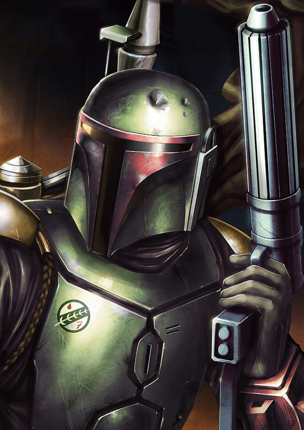 boba fett 032a Star Wars   Boba Fett in Artwork   The Ultimate Badass!