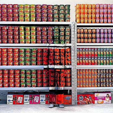 liu bolin 010 Liu Bolin   Self Portrait of an Invisible Man
