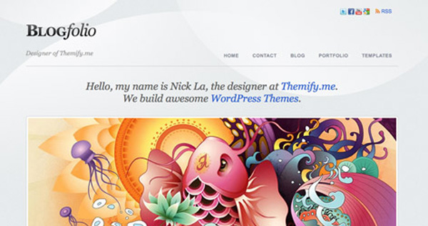 wordpress themes 2011 003 20 Quality Free & Premium Wordpress Themes for 2011