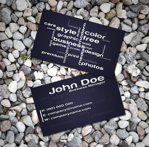 business card templates 02 20 Free Awesome Business Card Templates