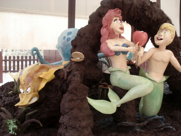 fantastic chocolate art 27 Yummy and Fantastic Chocolate in Art & Sculptures