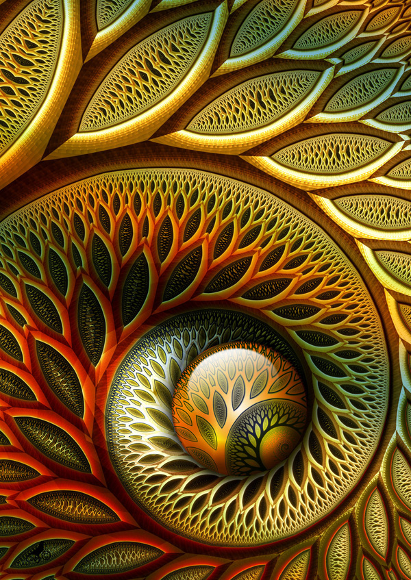 stunning fractal 015 Stunning Examples of Fractal Art