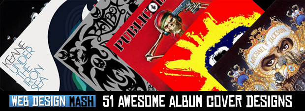 awesome album cover designs 51 Awesome Album Cover Designs