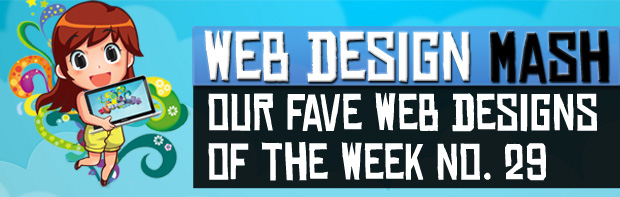 fave designs of week 29 Our Fave Web Designs of the Week No.29