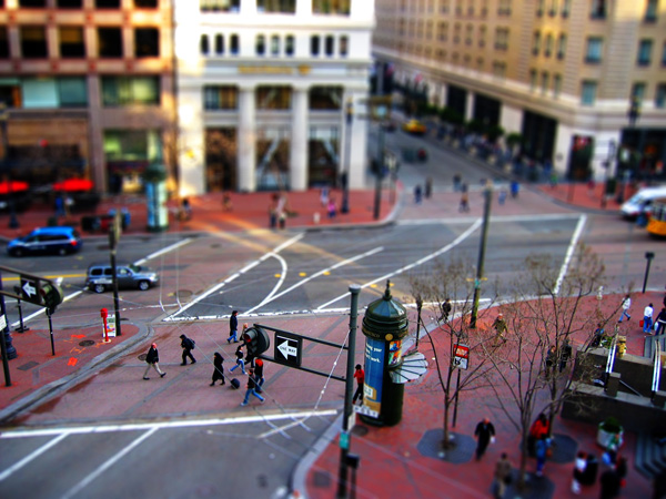 tilt shift photography 31 Life in Miniature   38 Stunning Shots of Tilt Shift Photography