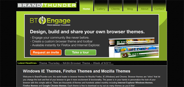 How to Create Your Own Browser Theme & Invites to Bt-Engage to