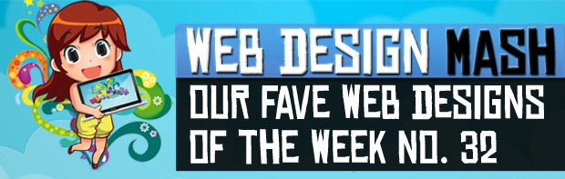 fave designs of week 32 Our Fave Web Design of the Week No.32