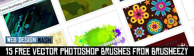 free vector brushes 15 FREE Vector Photoshop Brushes from Brusheezy