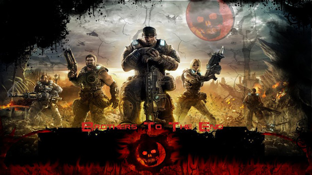 gears of war 08 Gears of War Series in Glorious Artwork