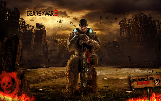 gears of war 14 Gears of War Series in Glorious Artwork