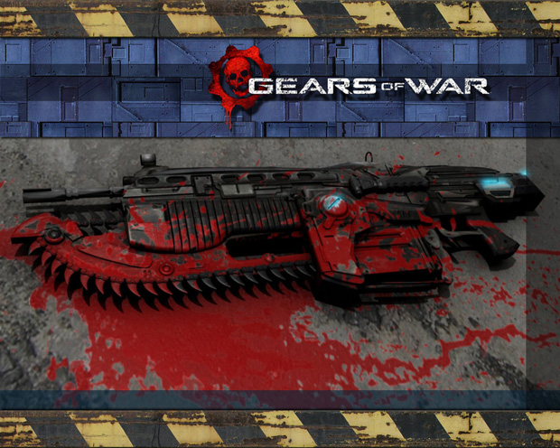 gears of war 17 Gears of War Series in Glorious Artwork