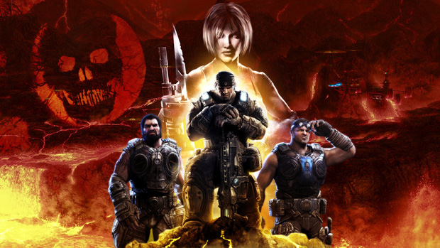 gears of war 18 Gears of War Series in Glorious Artwork
