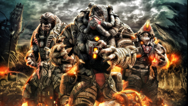 gears of war 191 Gears of War Series in Glorious Artwork