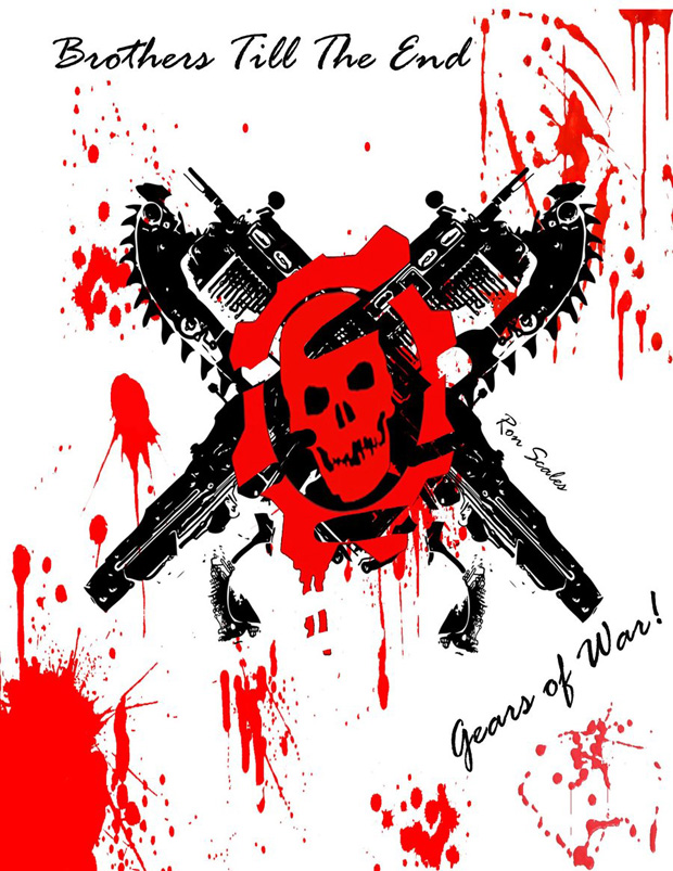 gears of war 20 Gears of War Series in Glorious Artwork