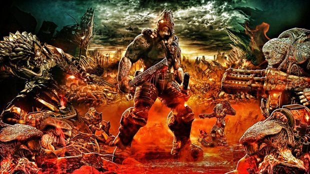 gears of war 22 Gears of War Series in Glorious Artwork