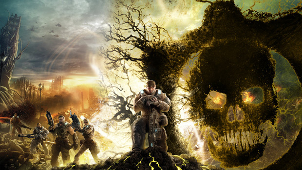 gears of war 23 Gears of War Series in Glorious Artwork
