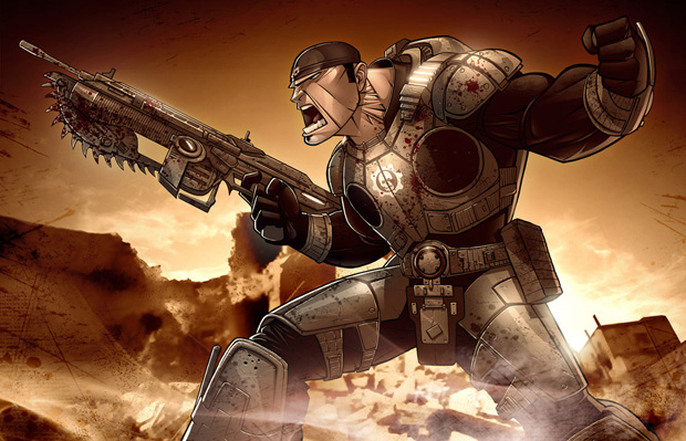 gears of war 28 Gears of War Series in Glorious Artwork