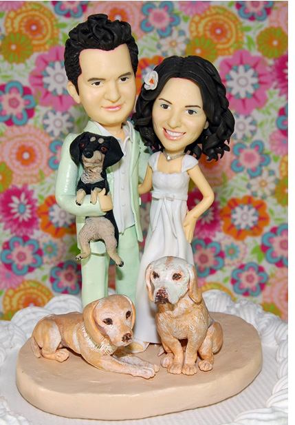 gorgeous cake toppers 07 Gorgeously Designed Cake Toppers