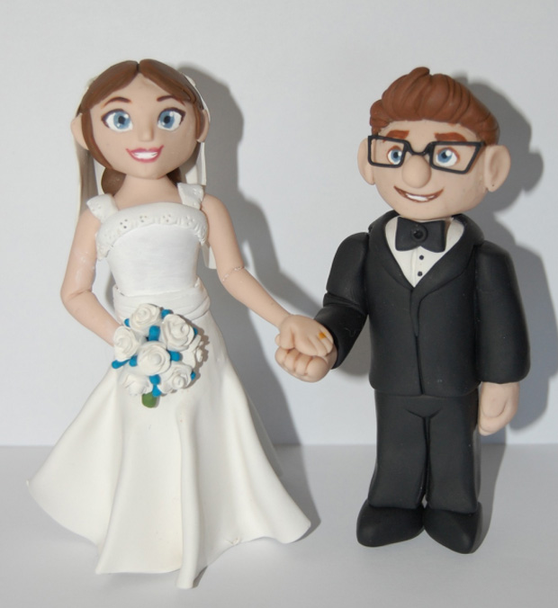 gorgeous cake toppers 17 Gorgeously Designed Cake Toppers