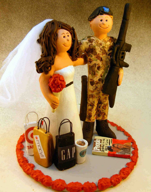 gorgeous cake toppers 30 Gorgeously Designed Cake Toppers