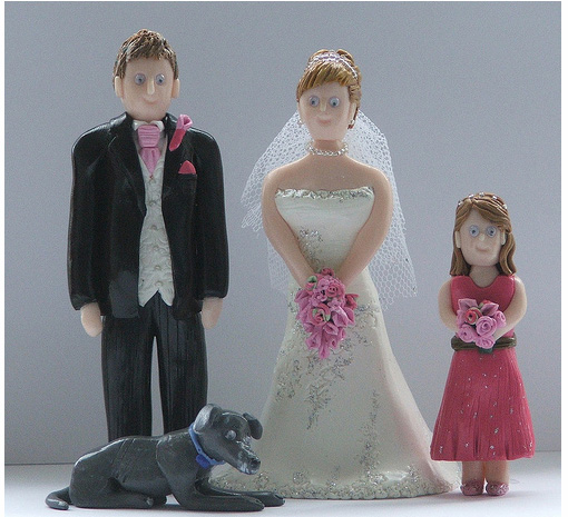 gorgeous cake toppers 34 Gorgeously Designed Cake Toppers