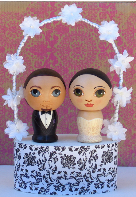 gorgeous cake toppers 38 Gorgeously Designed Cake Toppers
