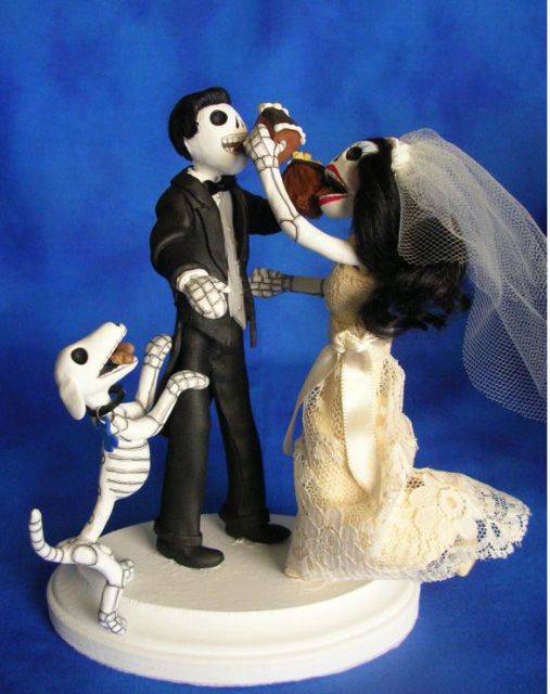 gorgeous cake toppers 43 Gorgeously Designed Cake Toppers