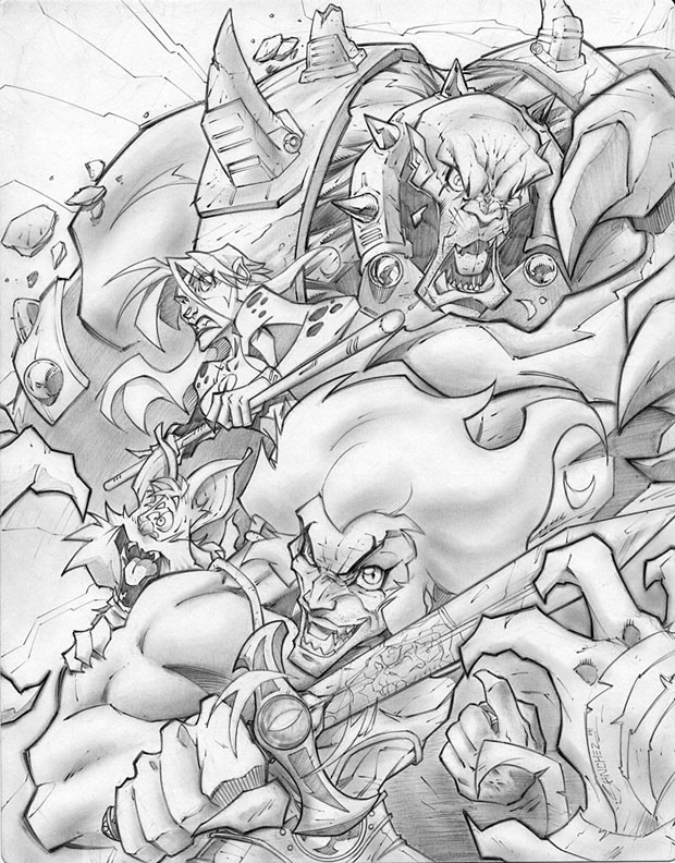 thundercats art 08 ThunderCats Inspired Fan Art