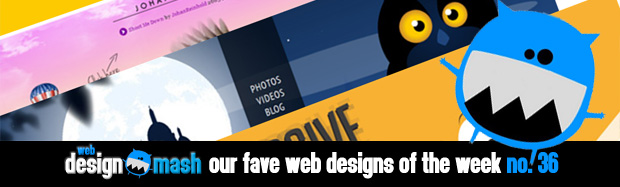 fave web design of week 36 Our Fave Web Designs of the Week No.36