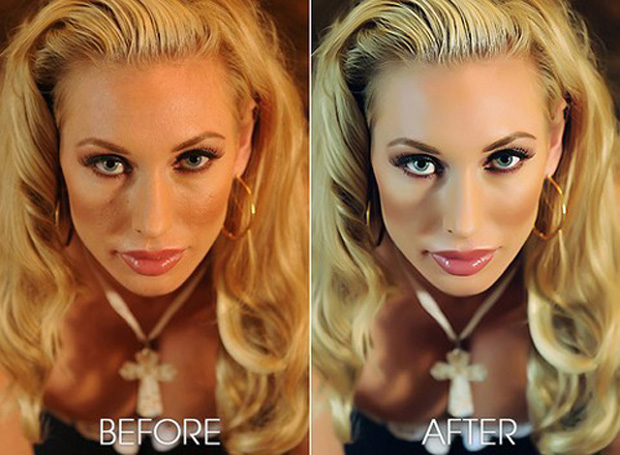 retouched Case Study: The Human Face & Body Retouch